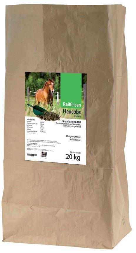 (EUR 0,65/kg)Raiffeisen Heucobs 20 kg Pferdefutter
