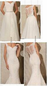 Brand new deb/wedding dress,mermaid,zip back. Ttry in store Richmond Yarra Area Preview