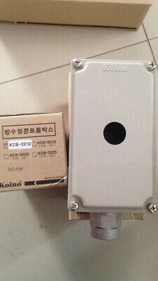 1pcs new KOINO button switch box KCB-221D