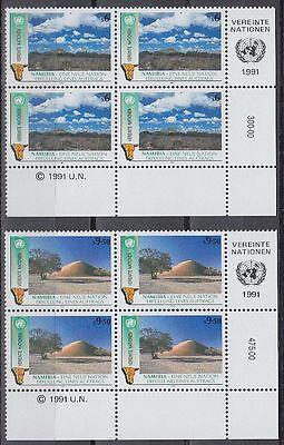 UNO WIEN 1991 MI 114 15 UNABH NGIGKEIT INDEPENDENCE NAMIBIA SR2070
