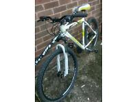 Mens mountain bike - needs new seat