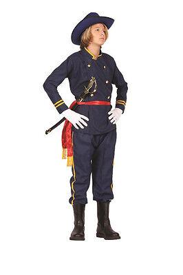 UNION OFFICER TEEN COSTUME CIVIL WAR SOLDIER GENERAL ARMY TEENAGE UNIFORM - Union Officer Uniform