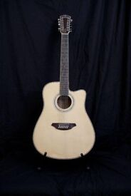 Westfield 12 String Electro-Acoustic Guitar