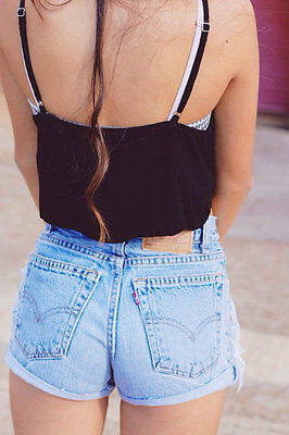 Levis High Waisted Shorts All Sizes All Colors
