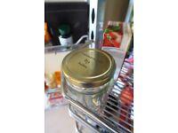 PERSONALISED GLASS JAR - Jam Jar Marmalade Jar Preserve Jar Honey Jar GREAT GIFT IDEA