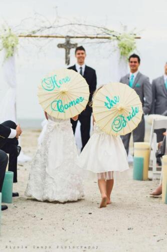 Wedding Parasol Here Comes the Bride