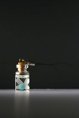 Legend of Zelda Fairy in a bottle Cellphone Charm (They glow in the dark!)