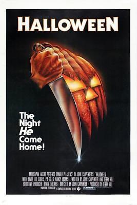 Vintage Halloween Movie Poster// Classic Movie Poster//Movie Poster//Poster Repr - Classic Halloween Movie