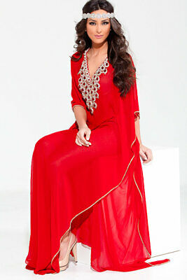 2020 Royal Moroccan Caftan Dubai Kaftan Abaya Wedding  Robe Takchita  var