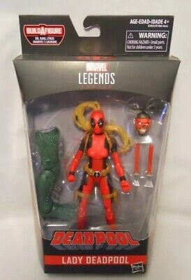 """Marvel Legends Lady Deadpool 6"""" Action Figure Brand New In Box"""