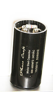 500 Mfd Capacitor Ebay