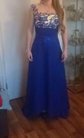 Gorgeous blue ball gown/evening dress, prom dress