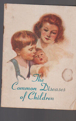 Common Diseases Of Children Booklet Prudential Insurance 1947