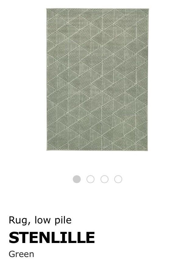 Brand new large Ikea Stenlille rug | in