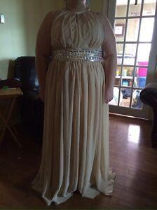 Plus size prom dress, size 24, $180