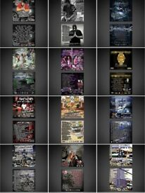 Mixtape cover artwork / HipHop / Rap / CD art / Music / Designs / Logos