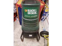Black & Decker Shredder GA1400E