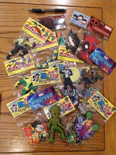 Mega Mega Magnets: MIX and MATCH!  Make your own set!  Marvel DC Batman Adv
