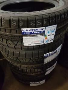 255/55R18 BRAND NEW SET WINTER TIRES SNOW VITOUR 255/55/R18 WHEELS 255 55 18