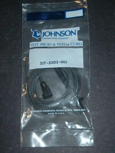nos johnson test prod & patch cord #217-5303-001