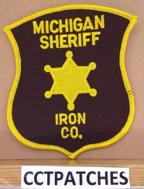 IRON COUNTY, MICHIGAN SHERIFF (POLICE) SHOULDER PATCH MI
