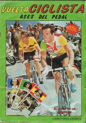 STICKER FACSIMIL SAMMEL ALBUM CROMOS CICLISMO ASES DEL PEDAL MERCHANTE 1987 BIKE