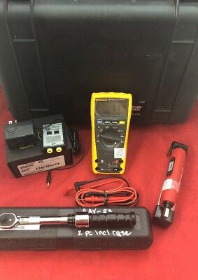 Fluke 179 True Rms Multimeter Wtouch Tester Snap-on Q Driver 4 Torque Wrench