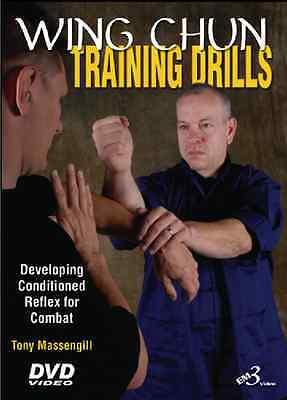 WING CHUN TRAINING DRILLS by Master Tony Massengill