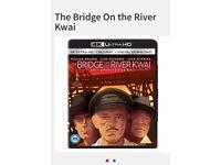 The bridge on the river 4k+ blu ray