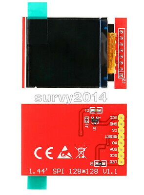 1.44 Red Serial 128x128 Spi Color Tft Lcd Module Display Replace Nokia 5110 Lcd