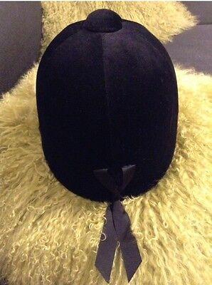 Horse PENTA Riding hat Velvet Adult Size 7 1/8 58 New Genuine