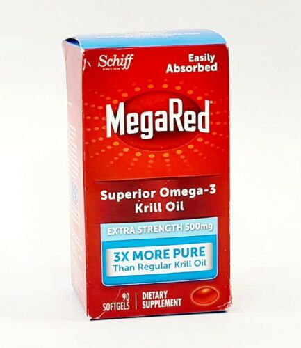 Schiff MegaRed Superior Omega-3 Krill Oil  500mg - 90 Softge