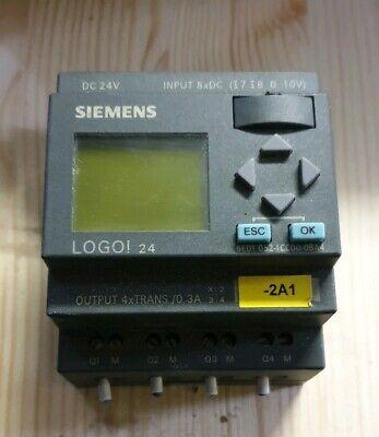 Siemens Logo 24 Logikmodul 6ed1 052-1cc00-0ba4