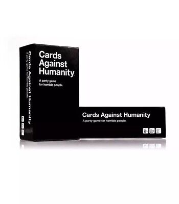 Cards Against Humanity UK edition 550 Card Full Base Set Pack Party Game New!!!!