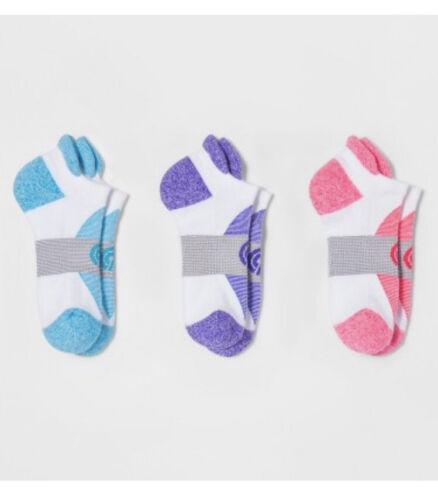 Women's Heel Shield Cushion 3pk Low-Cut Athletic Socks- C9 C