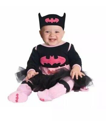 Infant Batgirl Halloween Costumes (NEW Baby Infant Girls DC Super Hero Rubies Batgirl Halloween Costume)