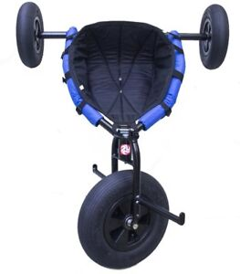 Kite Buggy Peter Lynn Rally + Galvanized Powder Coated Steel Frame + Padded Seat