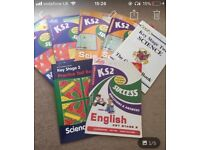 KS2 workbooks for science, maths and english