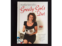 Brand new Nadia Sawalha Greedy Girls Diet Book R.R.P £13 (can post)