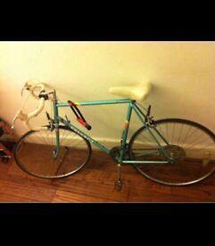 Peugeot HLE Premier Vintage Racer / Road Bicycle Turquoise