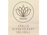 Apollo Hypnotherapy Solihull - WeightLoss/StopSmoking/IBS/Confidence/SelfEsteem/PainManagement