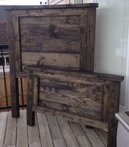 REDUCED & MUST GO! Solid wood bedframe