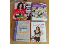 Selection of cook books three brand new