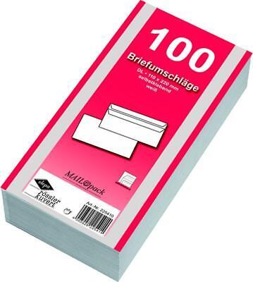 1000 (10x 100) Mailpack  Briefumschläge Din lang weiss ()
