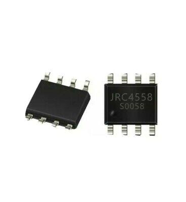 10 Pcs Jrc4558d Audio Low Noice Op-amp Sop-8 Usa Seller