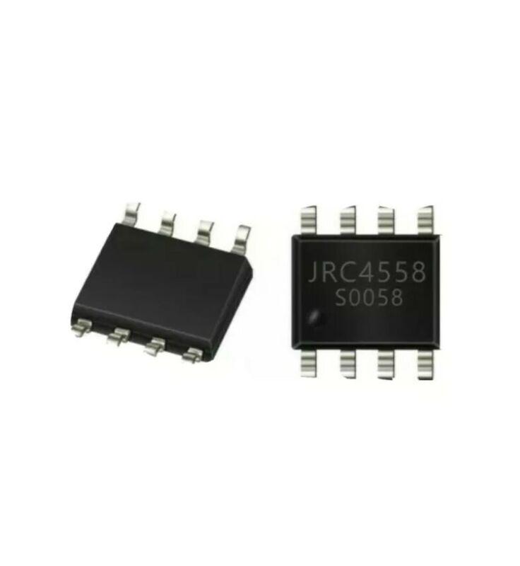 10 pcs JRC4558D Audio Low noice OP-AMP SOP-8 ***USA seller***