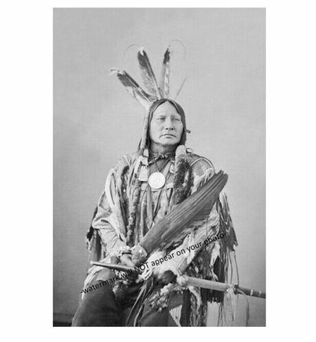 Chief Running Antelope PHOTO Sioux Indian Native American Sitting Bull Advisor