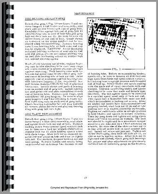 Allis Chalmers Wd Wd45 Tractor Operators Parts Manual Ac-op-wd D Til