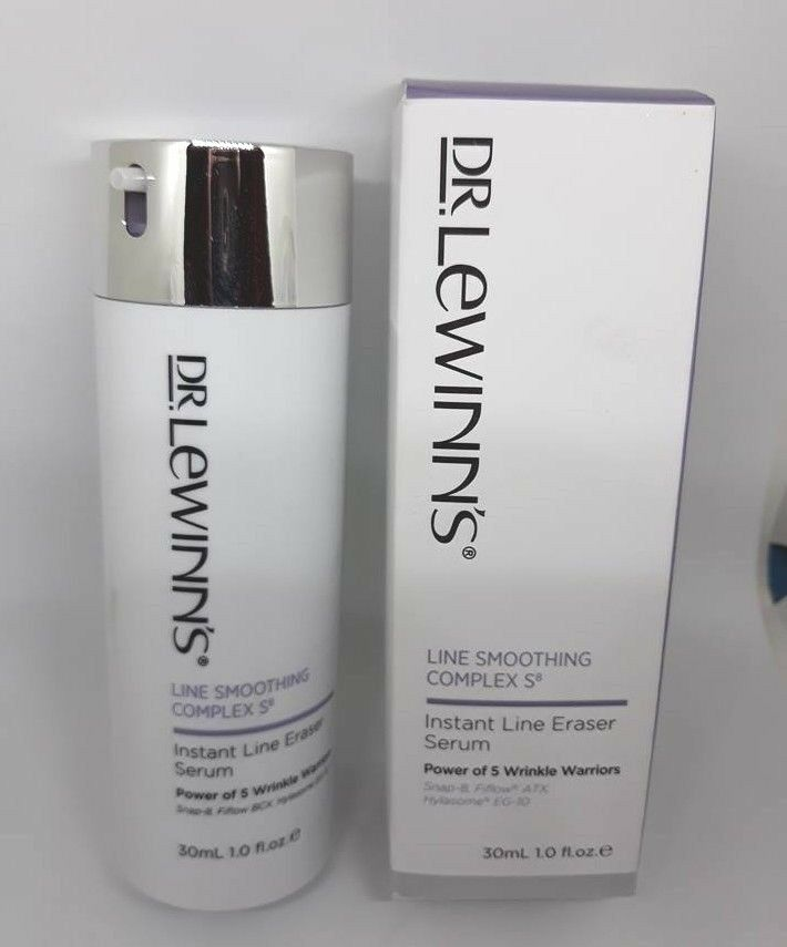 100% Genuine Dr. Lewinn's Instant Line Smoothing Complex S8 Eraser Serum 30ml