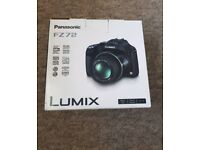 Panasonic DMC-FZ72 Camera Black 16.1MP 60xZoom 3.0LCD FHD 20mm Lumix DC Vario